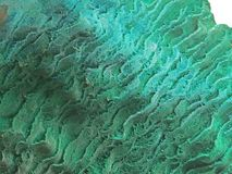 Formas naturais Minerais e texturas e fundos semipreciosos das pedras Foto de Stock