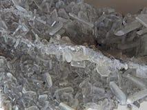 Formas naturais Minerais e texturas e fundos semipreciosos das pedras Imagens de Stock