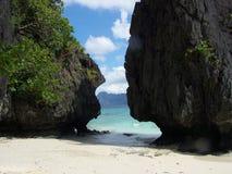 Formas naturales de la roca Fotografía de archivo libre de regalías