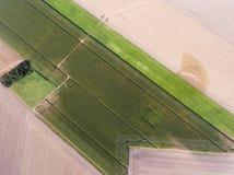 Formas no campo, Richarville imagem de stock