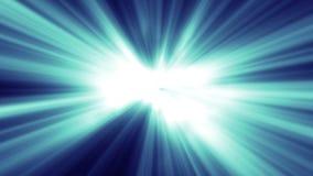 Formas orgánicas azules suaves ilustración del vector