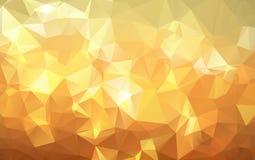 Formas poligonales fondo, mosaico polivinílico bajo de los triángulos, cristales negros contexto, papel pintado del diseño del ve libre illustration