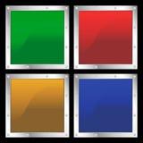 Formas quadradas Imagem de Stock