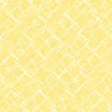Formas quadradas com cantos redondos Vector o teste padr?o sem emenda fundo repetitivo amarelo simples pintura de mat?ria t?xtil  ilustração stock