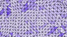 Formas triangulares do fundo abstrato ilustração stock