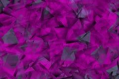 Formas violetas na névoa Foto de Stock