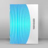 Format abstrait A4 01 de livret de page de fond illustration libre de droits