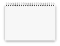 Format för anteckningsbok a4 Fotografering för Bildbyråer