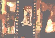 Format för filmbildjpeg Royaltyfria Foton