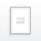 A4 / A3 format frame design for your image or text. Minimal abstract eps 10 vector illustration Stock Photo