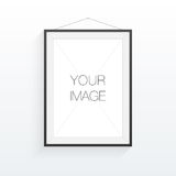 A4 / A3 format frame design for your image or text. Minimal abstract eps 10 vector illustration Royalty Free Stock Image
