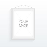 A4 / A3 format frame design for your image or text. Minimal abstract eps 10 vector illustration Royalty Free Stock Photography
