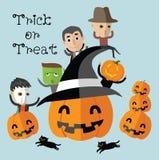 Format heureux de Halloween eps10 Photographie stock libre de droits