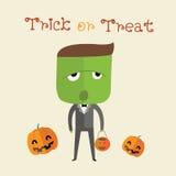 Format heureux de Halloween eps10 Photographie stock