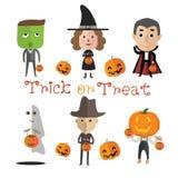 Format heureux de Halloween eps10 Photo libre de droits