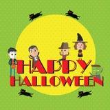 Format heureux de Halloween eps10 Image libre de droits