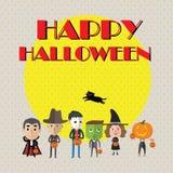 Format heureux de Halloween eps10 Image stock