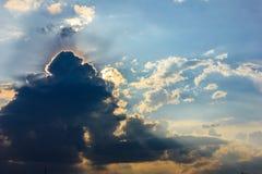 Format moln Arkivbilder