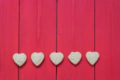 format socker för kakor hjärta arkivfoton