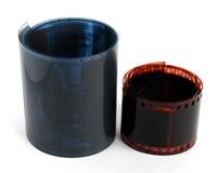 120 Format und 135 Format rollfilms für ruhige Fotografie Lizenzfreie Stockfotos