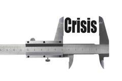 Formatet av krisen royaltyfria bilder