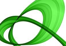 Formation abstraite verte illustration libre de droits