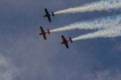 Formation aerobatics Stock Photography