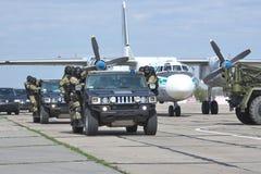 Formation anti-terroriste photo stock