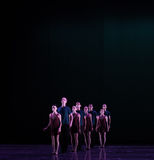 Formation-Classical ballet `Austen collection` Stock Image