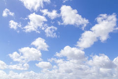 Formation of Clouds Royalty Free Stock Images