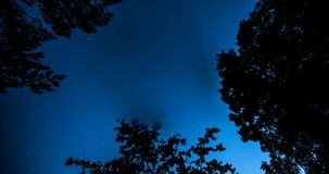 Formation of a condensate. On a lens when shooting stars stock video