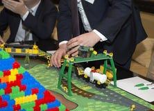 Formation d'affaires à Moscou Image libre de droits