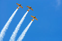 Formation d'Airshow Photographie stock