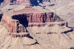 Formation d'amphithéâtre de roche en parc national de Grand Canyon image stock