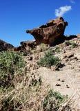 Formation de Boulder de roche photo libre de droits