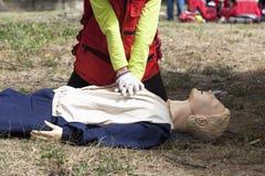 Formation de CPR image libre de droits