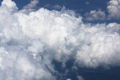 Formation de cumulus images stock