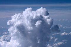 Formation de cumulus photo stock