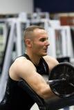 formation de gymnastique de forme physique Images libres de droits
