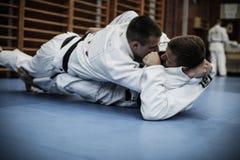 Formation de judo image stock