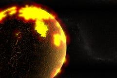 Formation de la terre Image stock