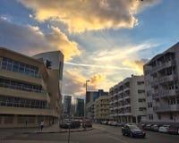 Formation de modèle de nuage Photo libre de droits