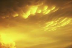 Formation de nuage de Mammitus Photos stock