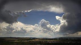 Formation de nuages Image libre de droits