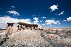 Formation de Roch dans le désert du Nouveau Mexique Photographie stock libre de droits