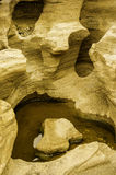 Formation de roche érodée Image stock