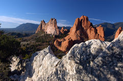 Formation de roche Photographie stock