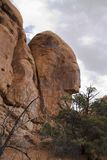 Formation de roche B dans le four ardent Image libre de droits