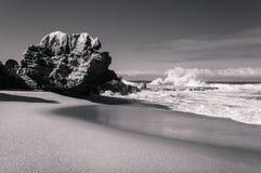 Formation de roche d'Umdloti Photo stock