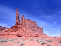 Formation de roche dans la vallée de monument Images libres de droits